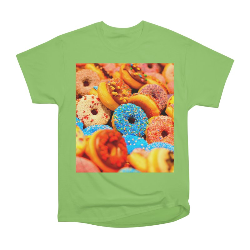 DONUTS Men's Heavyweight T-Shirt by THE ORANGE ZEROMAX STREET COUTURE