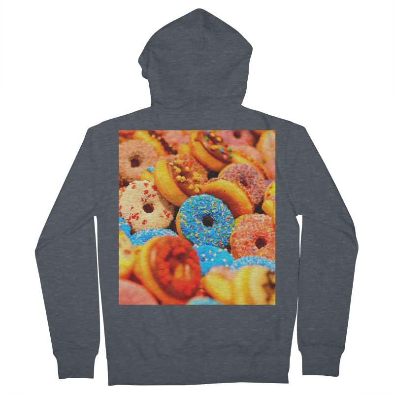 DONUTS Women's Zip-Up Hoody by THE ORANGE ZEROMAX STREET COUTURE