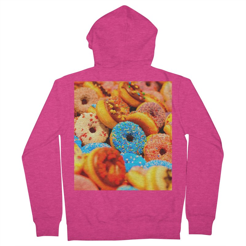 DONUTS Women's French Terry Zip-Up Hoody by THE ORANGE ZEROMAX STREET COUTURE