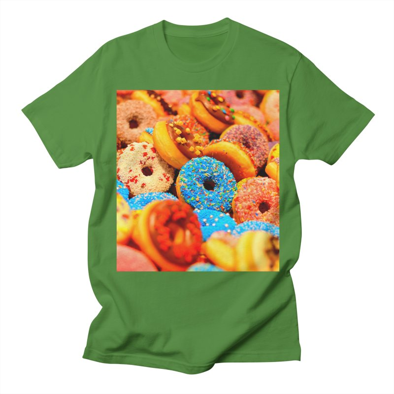 DONUTS Men's Regular T-Shirt by THE ORANGE ZEROMAX STREET COUTURE