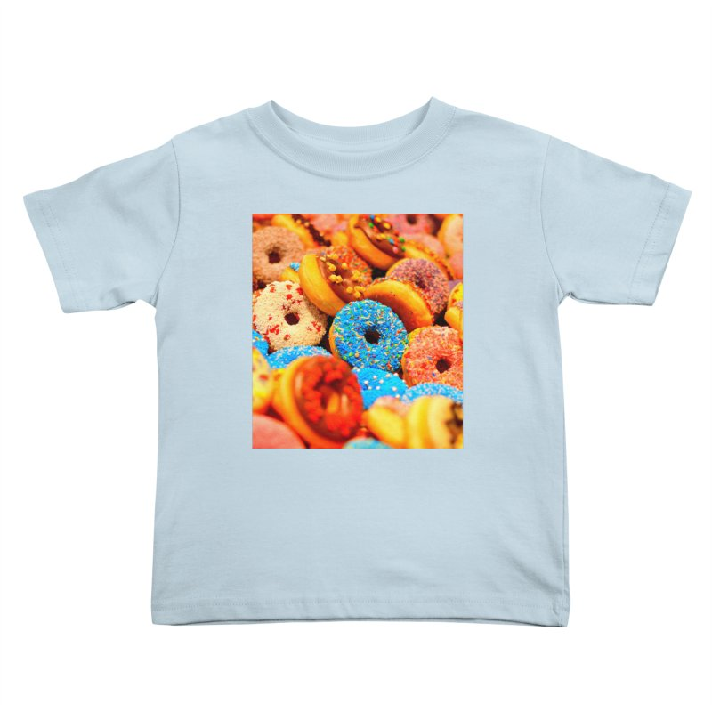 DONUTS Kids Toddler T-Shirt by THE ORANGE ZEROMAX STREET COUTURE