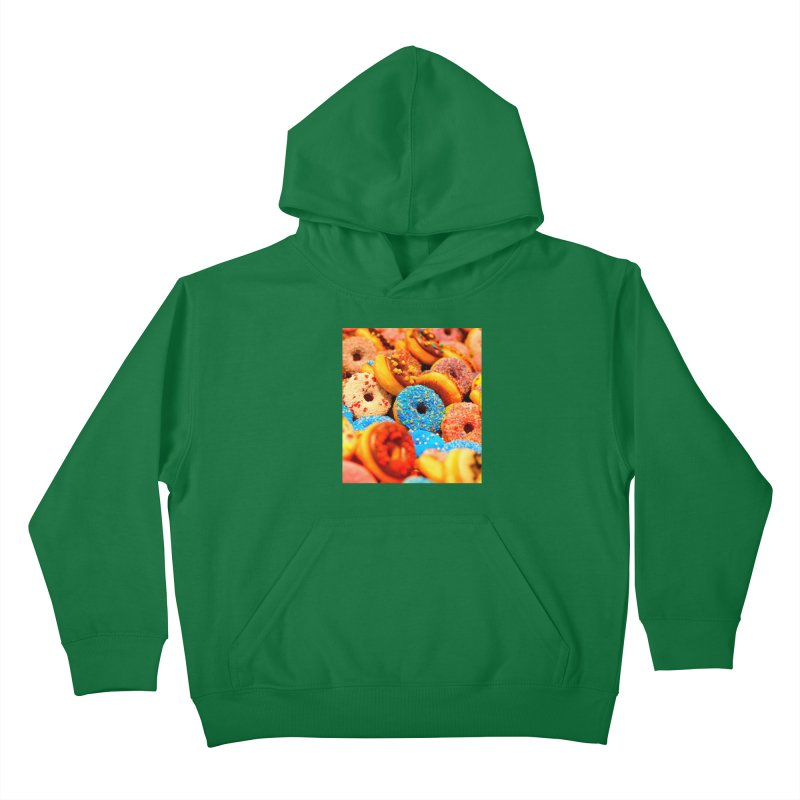 DONUTS Kids Pullover Hoody by THE ORANGE ZEROMAX STREET COUTURE