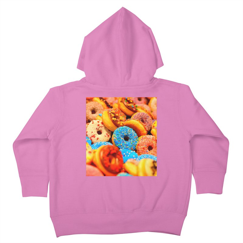 DONUTS Kids Toddler Zip-Up Hoody by THE ORANGE ZEROMAX STREET COUTURE
