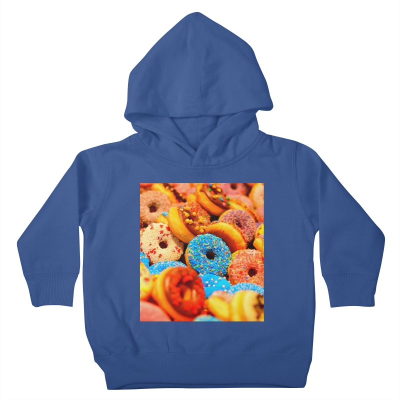 DONUTS Kids Toddler Pullover Hoody by THE ORANGE ZEROMAX STREET COUTURE
