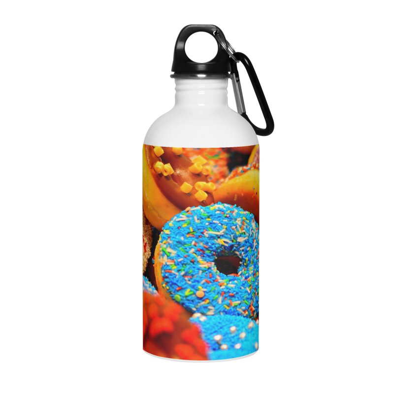 DONUTS Accessories Water Bottle by THE ORANGE ZEROMAX STREET COUTURE