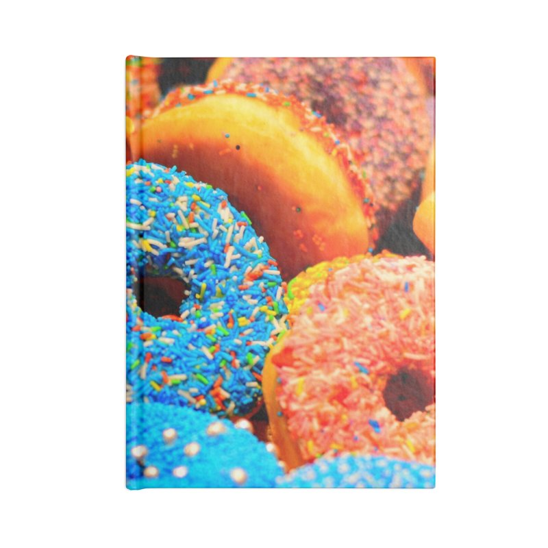 DONUTS Accessories Notebook by THE ORANGE ZEROMAX STREET COUTURE