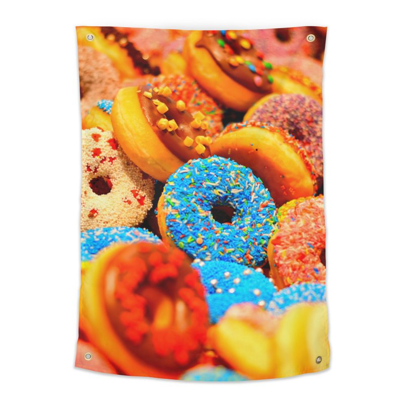 DONUTS Home Tapestry by THE ORANGE ZEROMAX STREET COUTURE