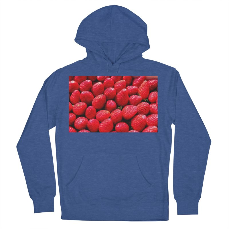 STRAWBERRIES Women's Pullover Hoody by THE ORANGE ZEROMAX STREET COUTURE
