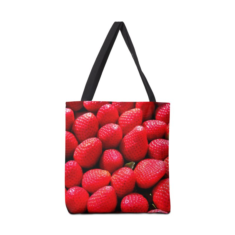 STRAWBERRIES Accessories Bag by THE ORANGE ZEROMAX STREET COUTURE