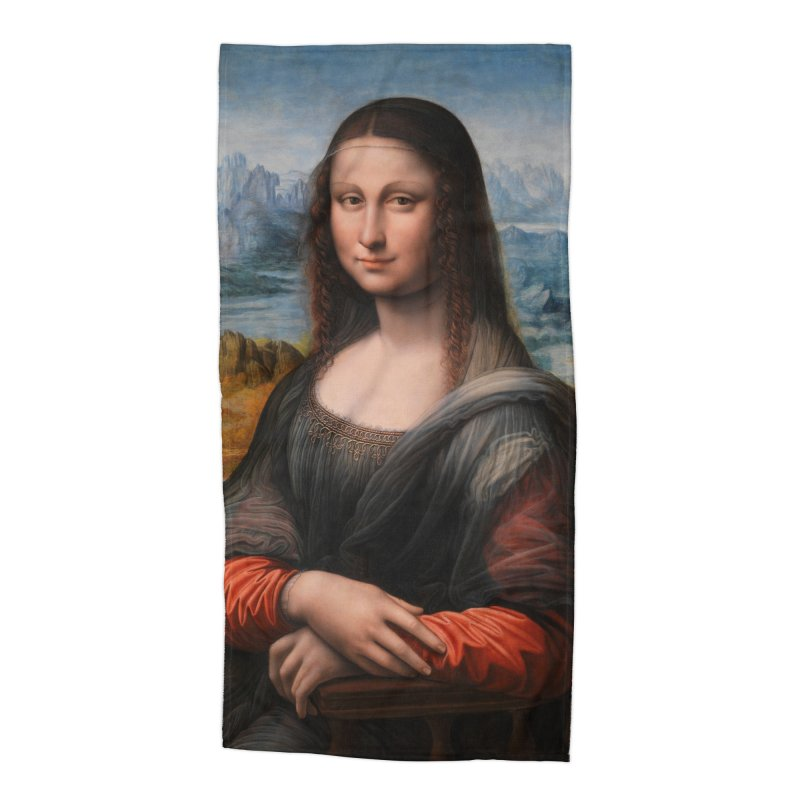 MONA LISA Accessories Beach Towel by THE ORANGE ZEROMAX STREET COUTURE