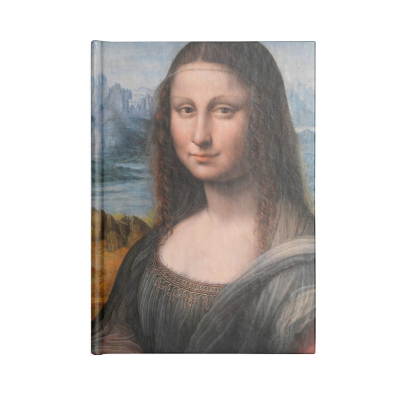MONA LISA Accessories Notebook by THE ORANGE ZEROMAX STREET COUTURE