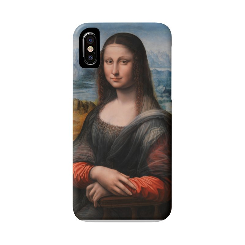 MONA LISA Accessories Phone Case by THE ORANGE ZEROMAX STREET COUTURE