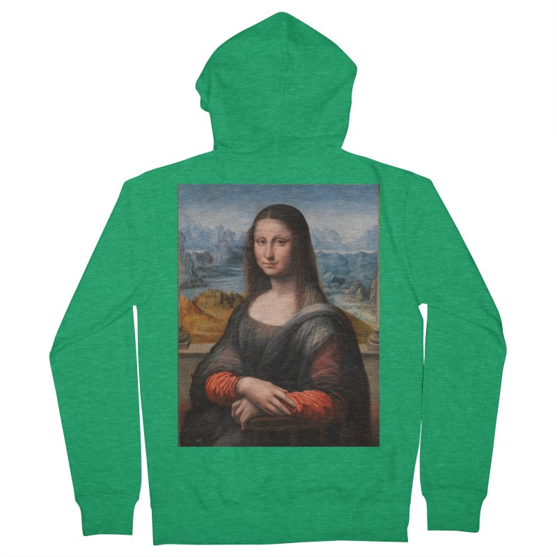 MONA LISA Women's French Terry Zip-Up Hoody by THE ORANGE ZEROMAX STREET COUTURE