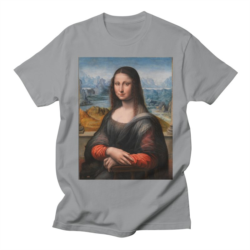 MONA LISA Women's Regular Unisex T-Shirt by THE ORANGE ZEROMAX STREET COUTURE