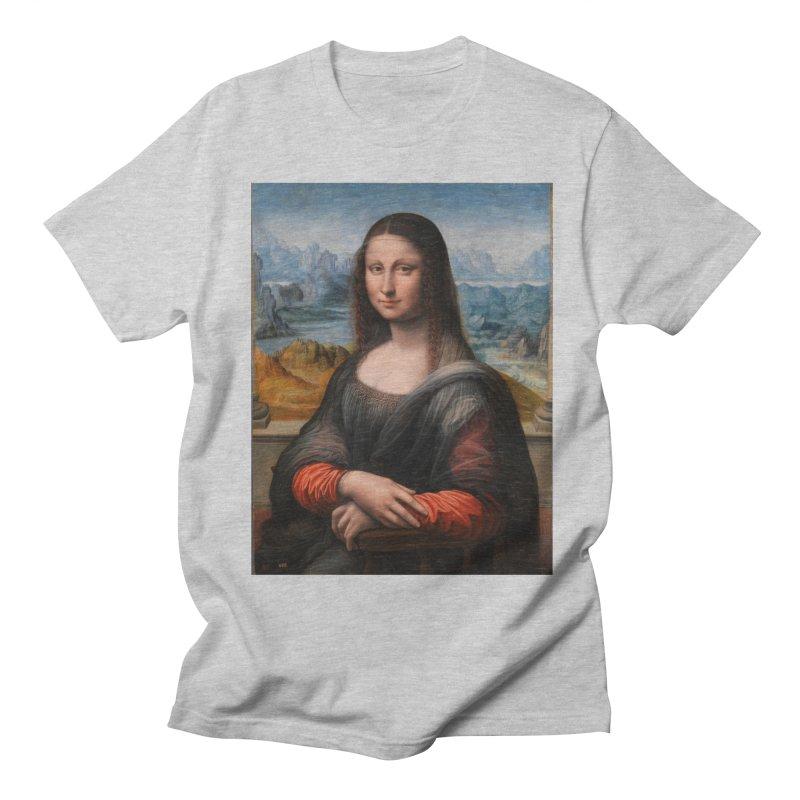 MONA LISA Women's Regular Unisex T-Shirt by THE ORANGE ZEROMAX STREET COUTURE