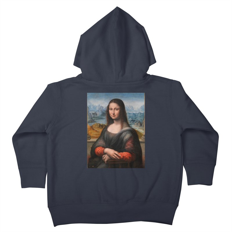 MONA LISA Kids Toddler Zip-Up Hoody by THE ORANGE ZEROMAX STREET COUTURE