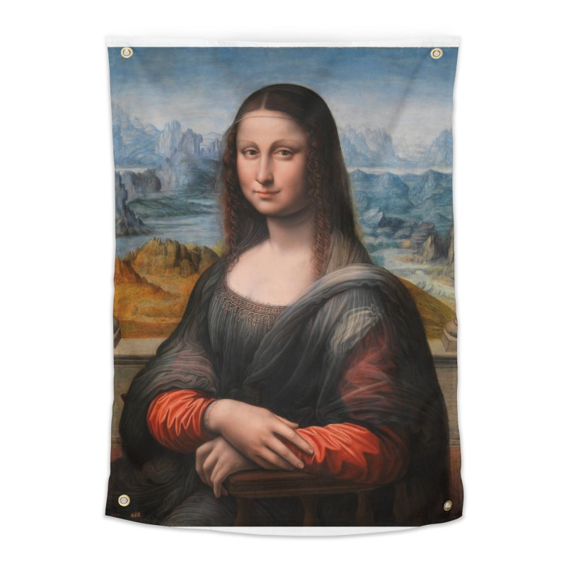 MONA LISA Home Tapestry by THE ORANGE ZEROMAX STREET COUTURE