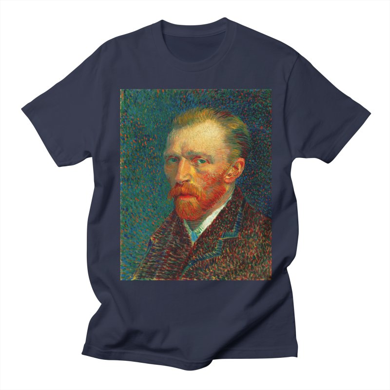 VINCENT VAN GOGH-SELF PORTRAIT Women's Regular Unisex T-Shirt by THE ORANGE ZEROMAX STREET COUTURE
