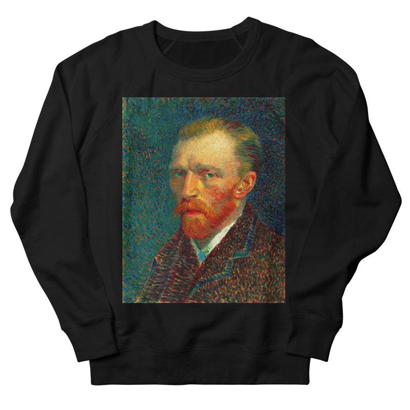 VINCENT VAN GOGH-SELF PORTRAIT Women's French Terry Sweatshirt by THE ORANGE ZEROMAX STREET COUTURE