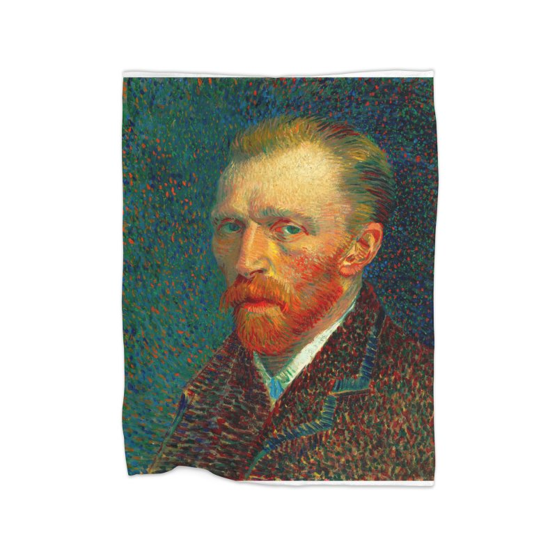 VINCENT VAN GOGH-SELF PORTRAIT Home Blanket by THE ORANGE ZEROMAX STREET COUTURE