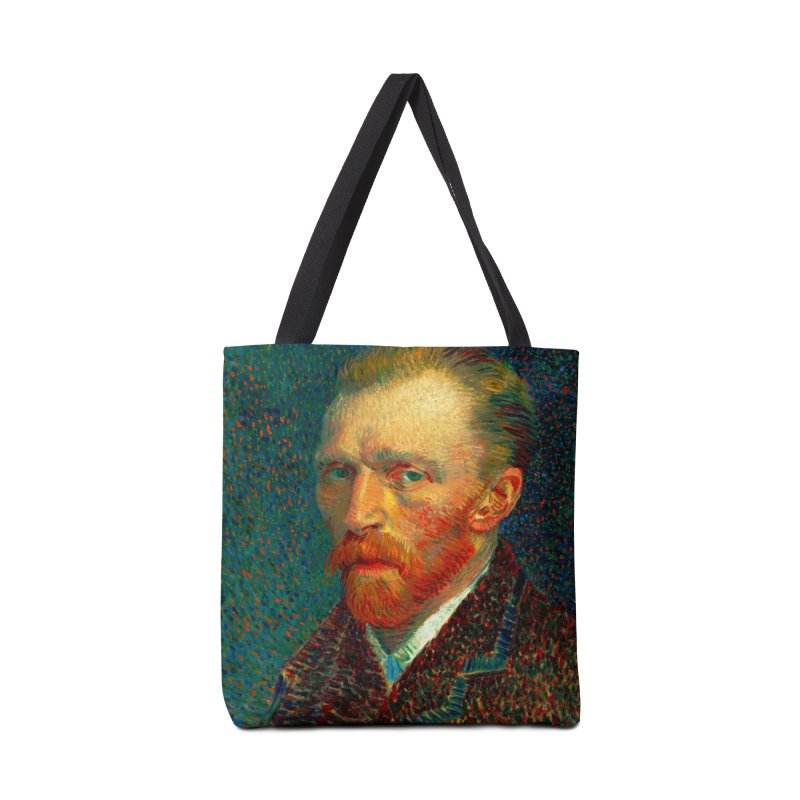 VINCENT VAN GOGH-SELF PORTRAIT Accessories Bag by THE ORANGE ZEROMAX STREET COUTURE