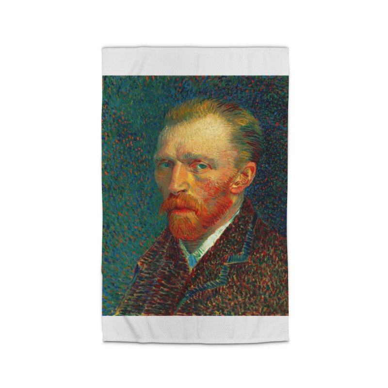 VINCENT VAN GOGH-SELF PORTRAIT Home Rug by THE ORANGE ZEROMAX STREET COUTURE