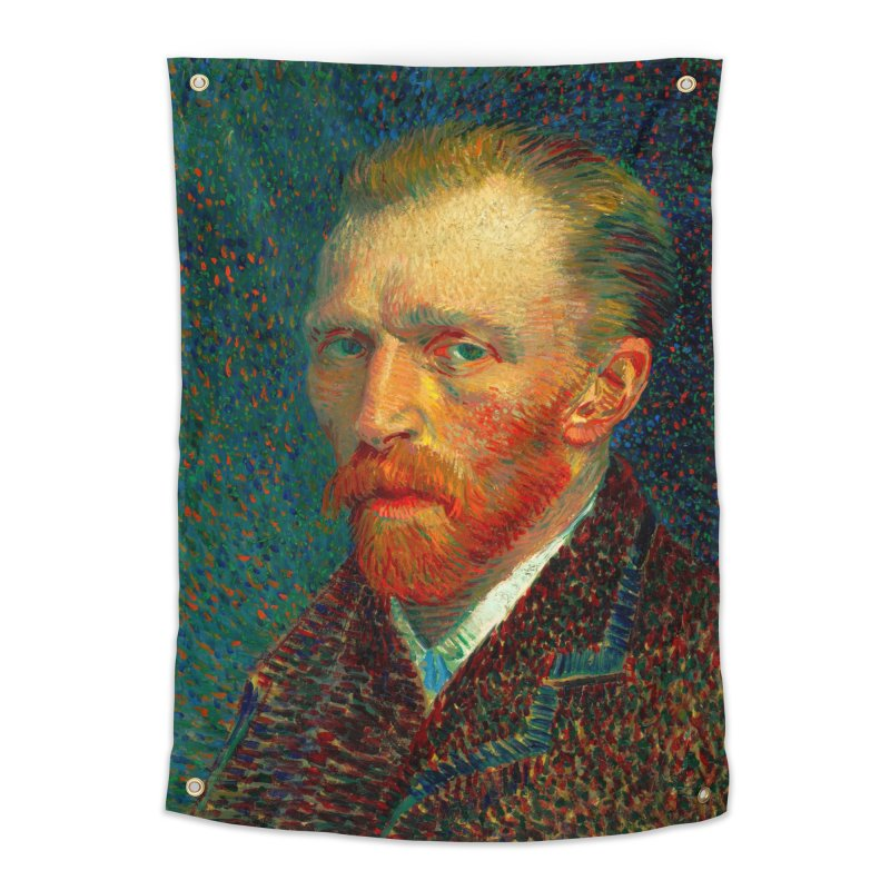 VINCENT VAN GOGH-SELF PORTRAIT Home Tapestry by THE ORANGE ZEROMAX STREET COUTURE