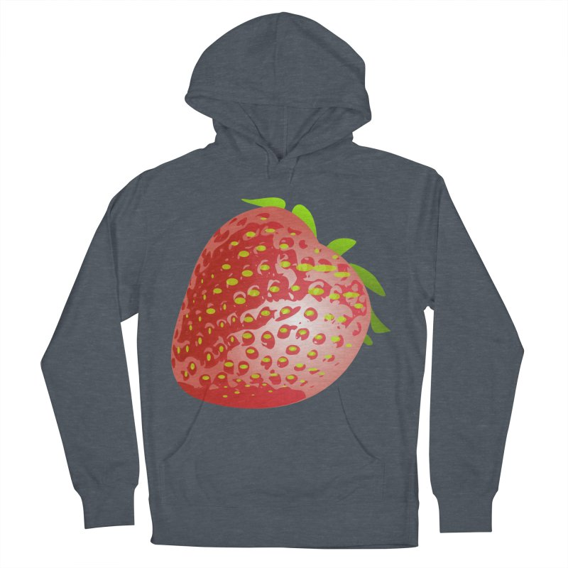 STRAWBERRY Men's Pullover Hoody by THE ORANGE ZEROMAX STREET COUTURE