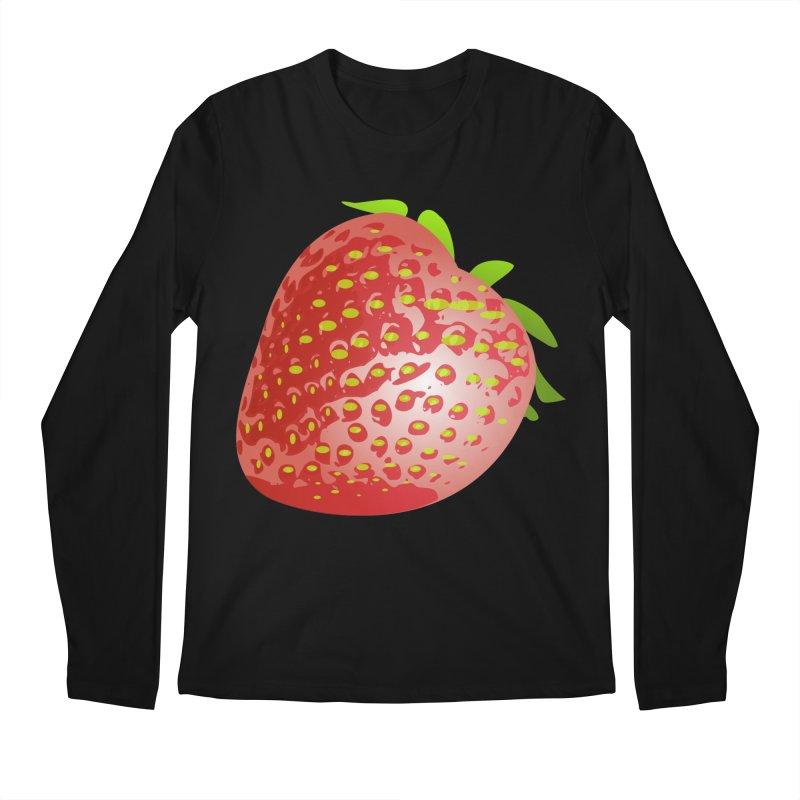 STRAWBERRY Men's Regular Longsleeve T-Shirt by THE ORANGE ZEROMAX STREET COUTURE