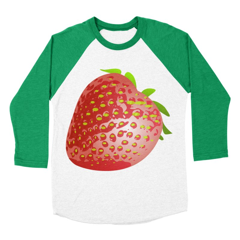 STRAWBERRY Women's Baseball Triblend T-Shirt by THE ORANGE ZEROMAX STREET COUTURE