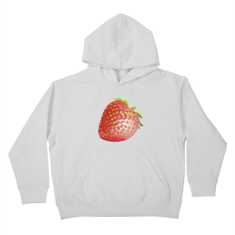 STRAWBERRY Kids Pullover Hoody by THE ORANGE ZEROMAX STREET COUTURE