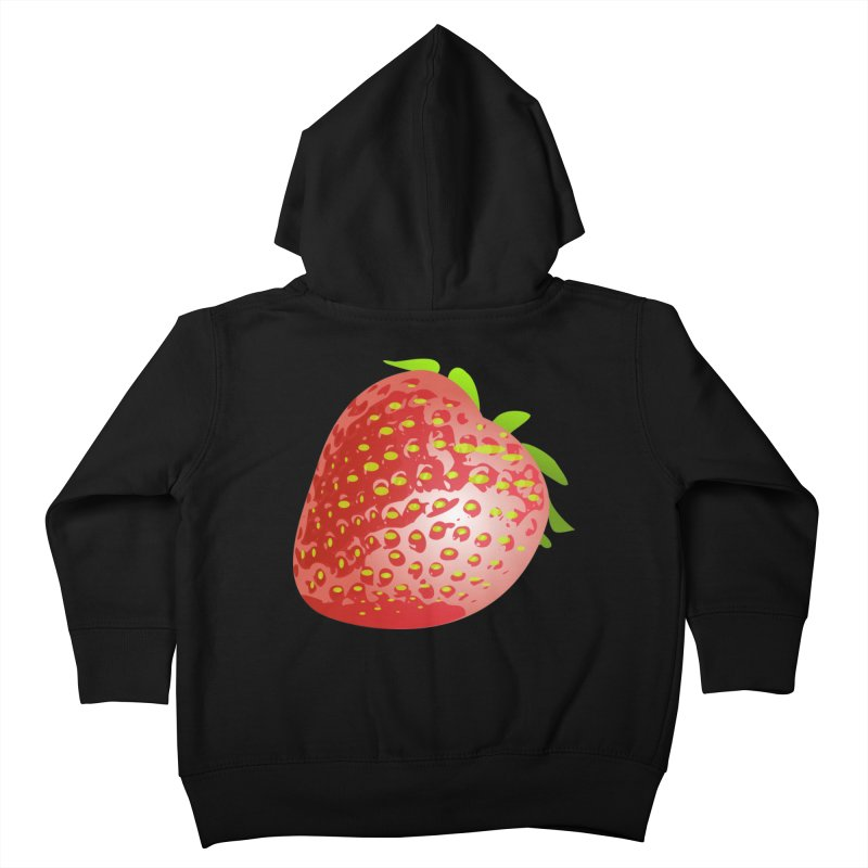 STRAWBERRY Kids Toddler Zip-Up Hoody by THE ORANGE ZEROMAX STREET COUTURE
