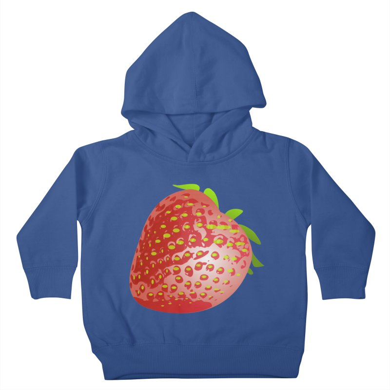 STRAWBERRY Kids Toddler Pullover Hoody by THE ORANGE ZEROMAX STREET COUTURE