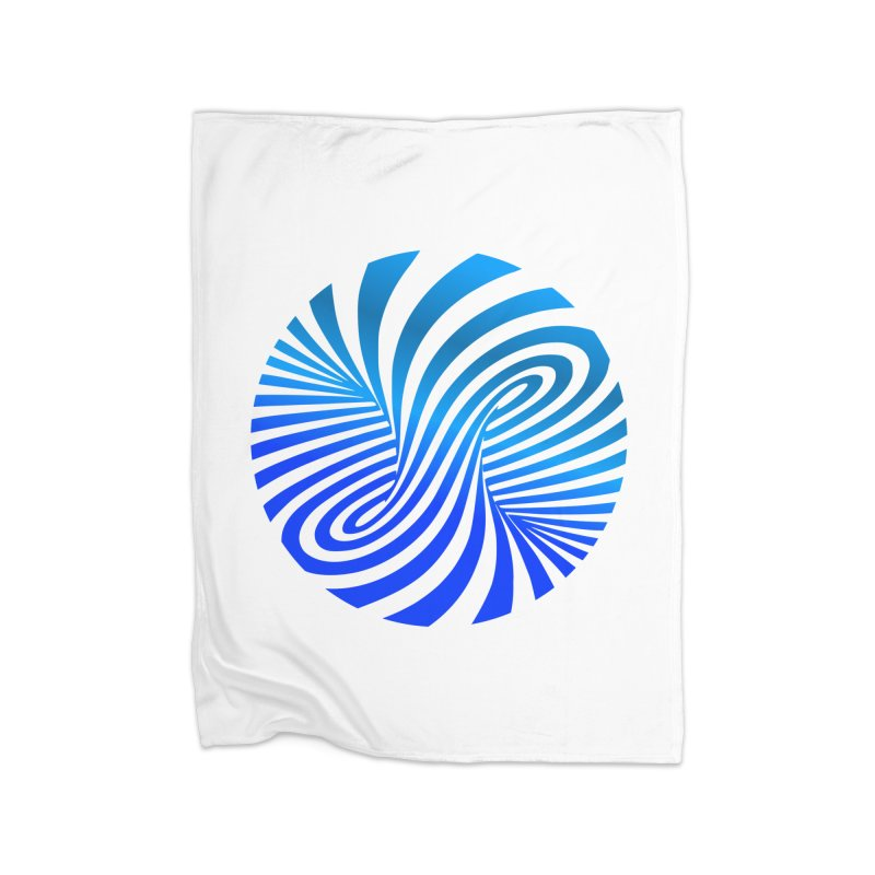 RETRO ROUNDS Home Blanket by THE ORANGE ZEROMAX STREET COUTURE