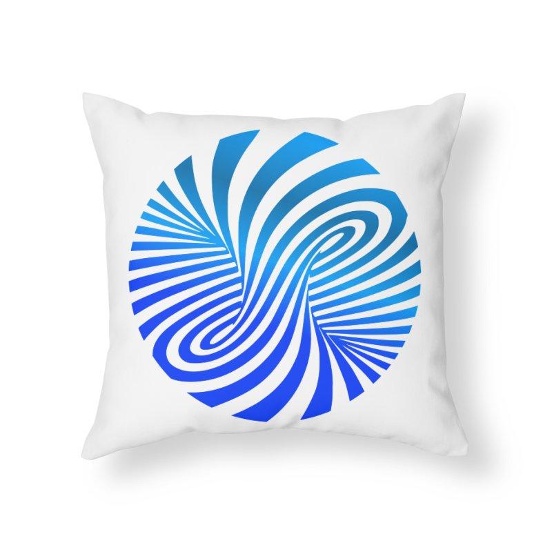 RETRO ROUNDS Home Throw Pillow by THE ORANGE ZEROMAX STREET COUTURE