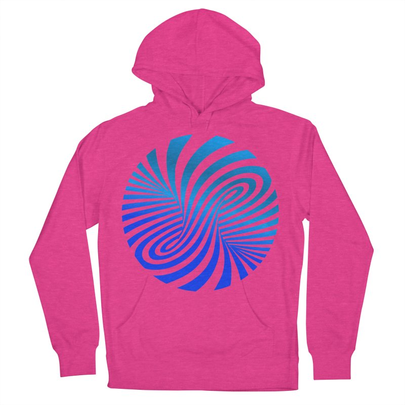 RETRO ROUNDS Women's French Terry Pullover Hoody by THE ORANGE ZEROMAX STREET COUTURE