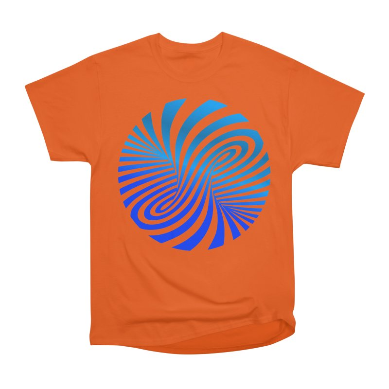 RETRO ROUNDS Men's Heavyweight T-Shirt by THE ORANGE ZEROMAX STREET COUTURE