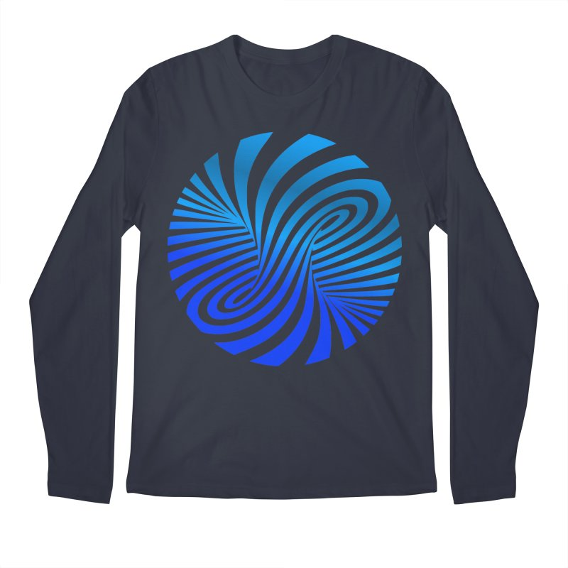 RETRO ROUNDS Men's Regular Longsleeve T-Shirt by THE ORANGE ZEROMAX STREET COUTURE