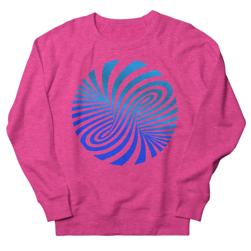 RETRO ROUNDS Women's French Terry Sweatshirt by THE ORANGE ZEROMAX STREET COUTURE