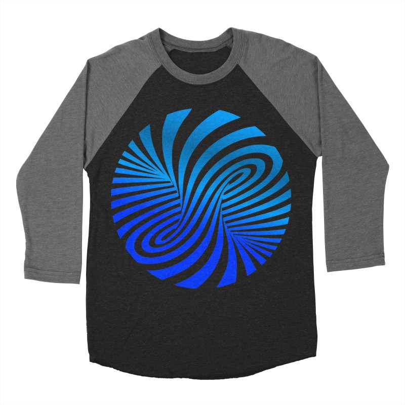 RETRO ROUNDS Men's Baseball Triblend Longsleeve T-Shirt by THE ORANGE ZEROMAX STREET COUTURE