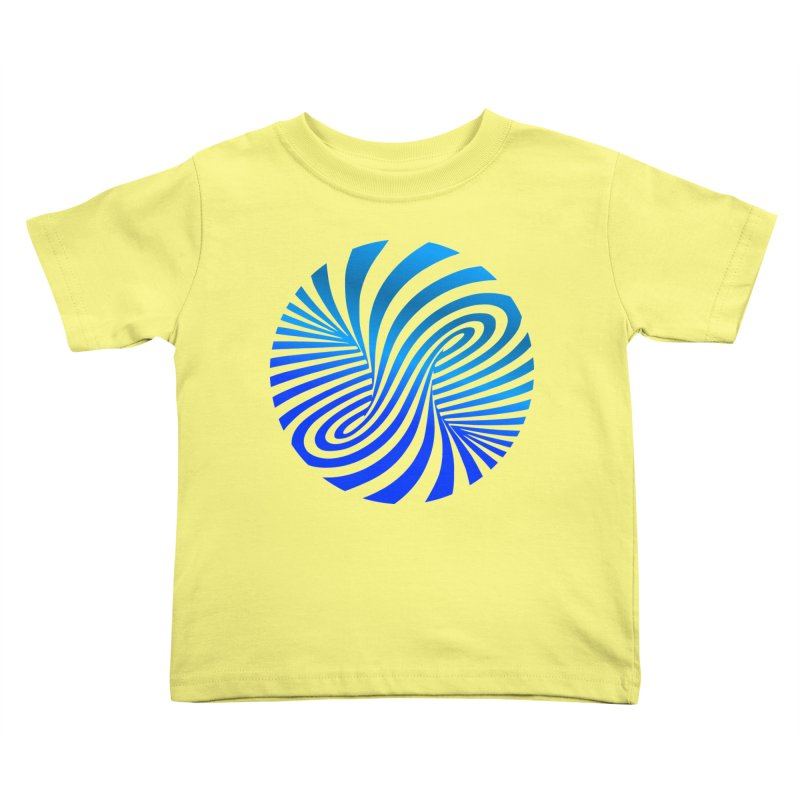 RETRO ROUNDS Kids Toddler T-Shirt by THE ORANGE ZEROMAX STREET COUTURE