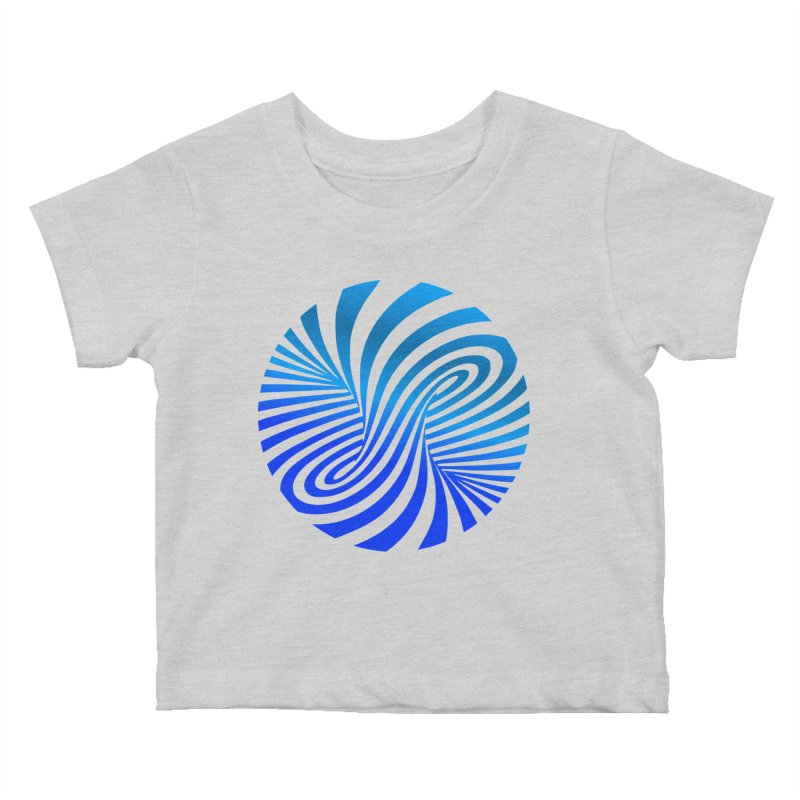 RETRO ROUNDS Kids Baby T-Shirt by THE ORANGE ZEROMAX STREET COUTURE