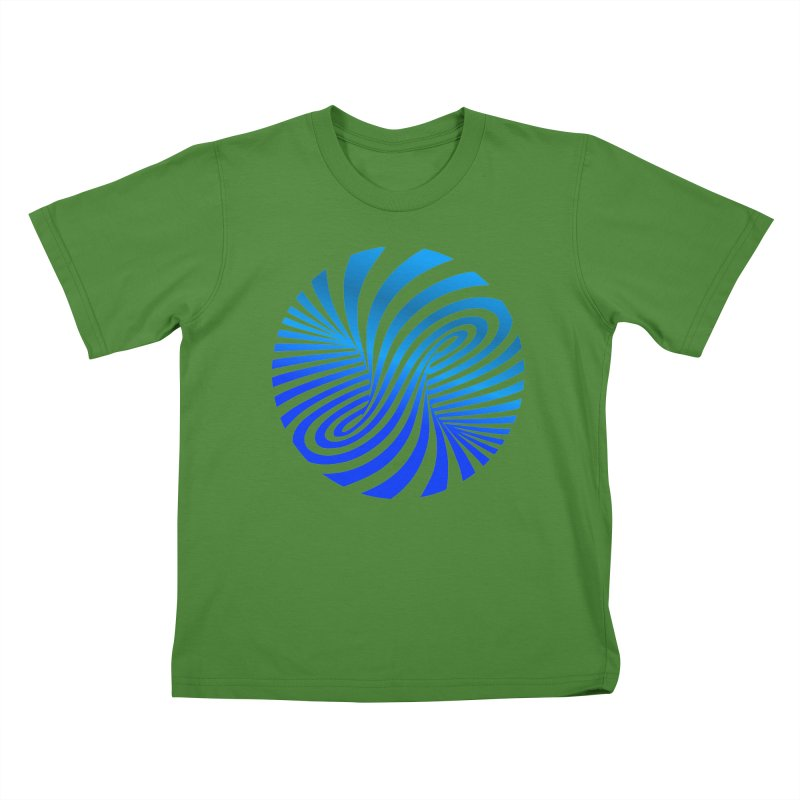 RETRO ROUNDS Kids T-Shirt by THE ORANGE ZEROMAX STREET COUTURE