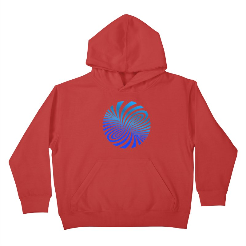 RETRO ROUNDS Kids Pullover Hoody by THE ORANGE ZEROMAX STREET COUTURE