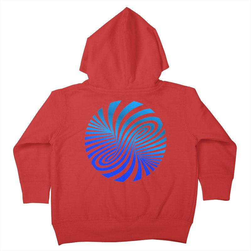 RETRO ROUNDS Kids Toddler Zip-Up Hoody by THE ORANGE ZEROMAX STREET COUTURE