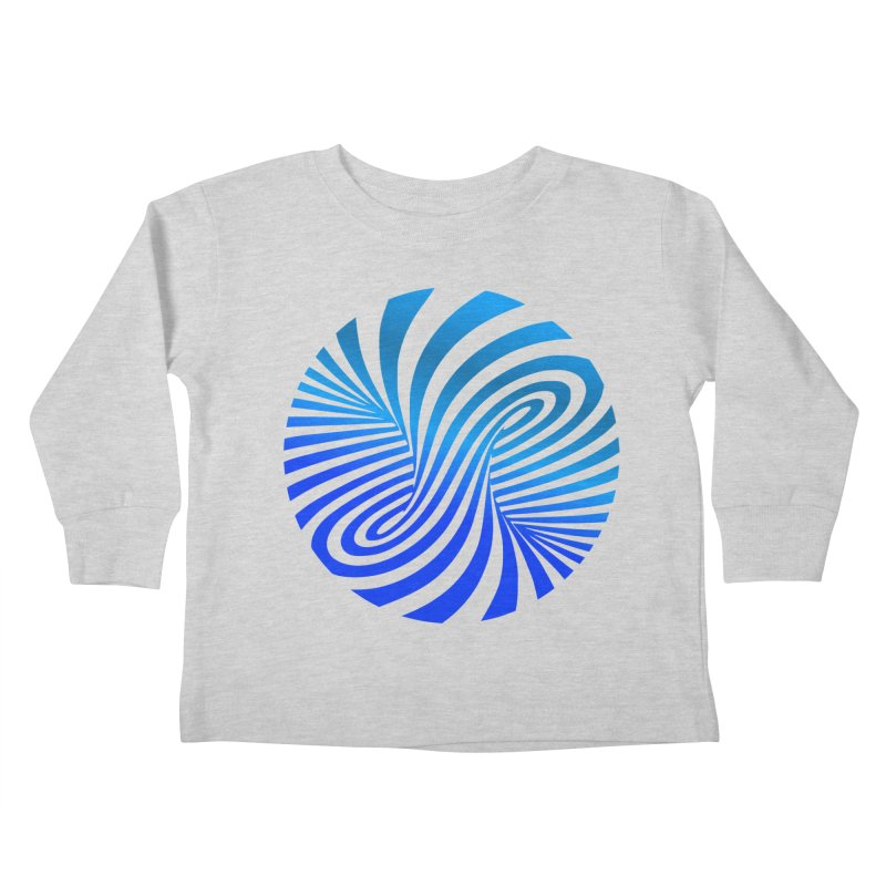 RETRO ROUNDS Kids Toddler Longsleeve T-Shirt by THE ORANGE ZEROMAX STREET COUTURE