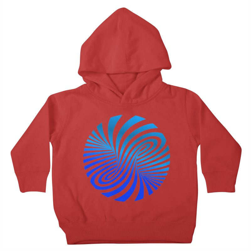 RETRO ROUNDS Kids Toddler Pullover Hoody by THE ORANGE ZEROMAX STREET COUTURE