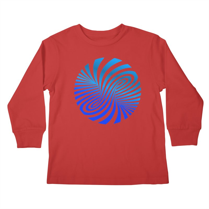 RETRO ROUNDS Kids Longsleeve T-Shirt by THE ORANGE ZEROMAX STREET COUTURE