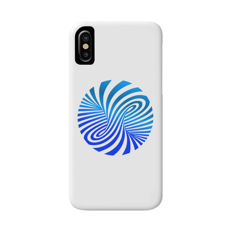 RETRO ROUNDS Accessories Phone Case by THE ORANGE ZEROMAX STREET COUTURE