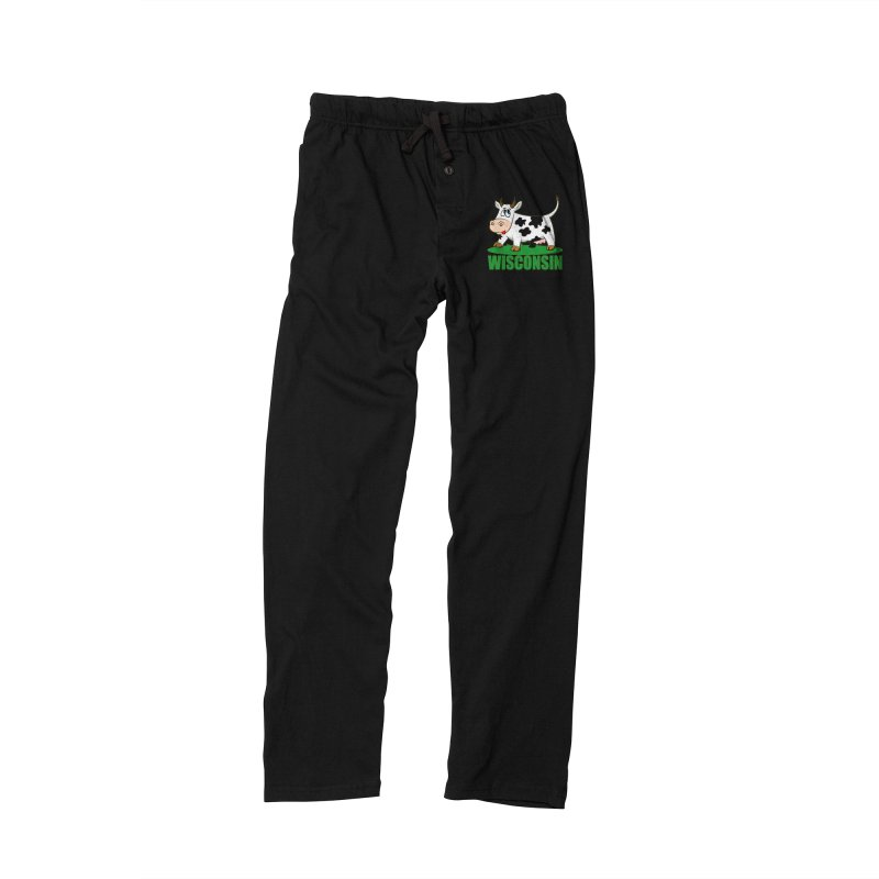 WISCONSIN Men's Lounge Pants by THE ORANGE ZEROMAX STREET COUTURE